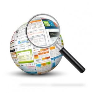 Webdesign, Suche, Analyse, Kugel, Lupe, SEO, Template, Vorlage